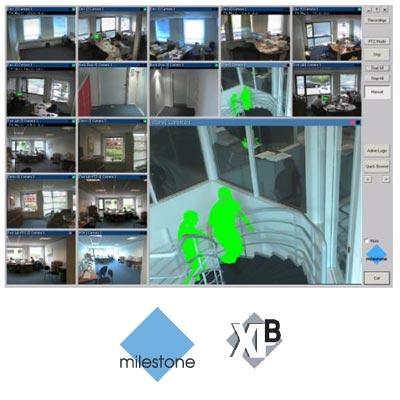 Milestone XProtect Basis+ 4 Cameras